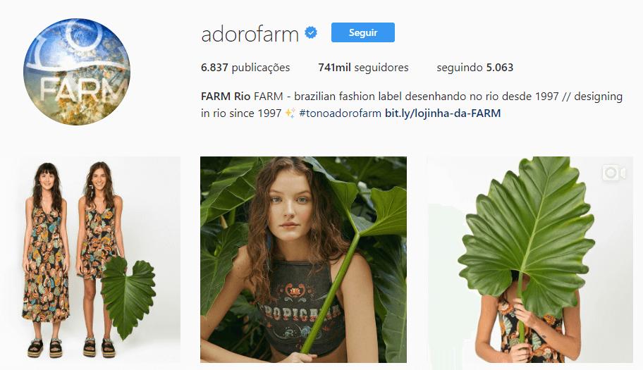Exemplo de porque criar Instagram para empresas